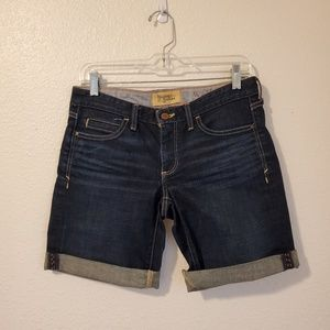 Anthro Holding Horses Denim Shorts